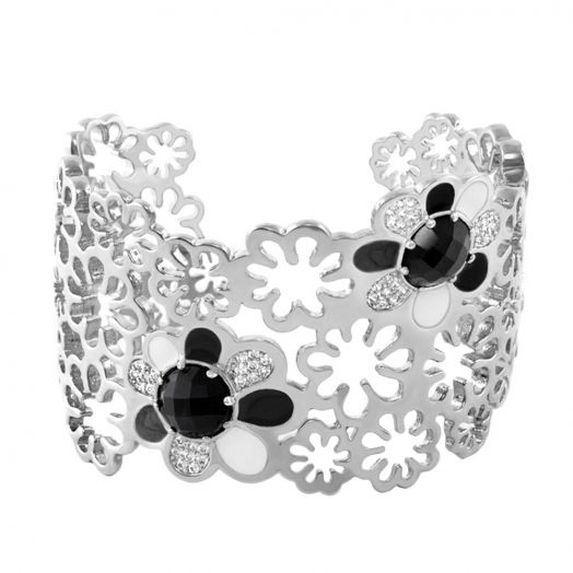 Field of Flowers Cuff Bangle