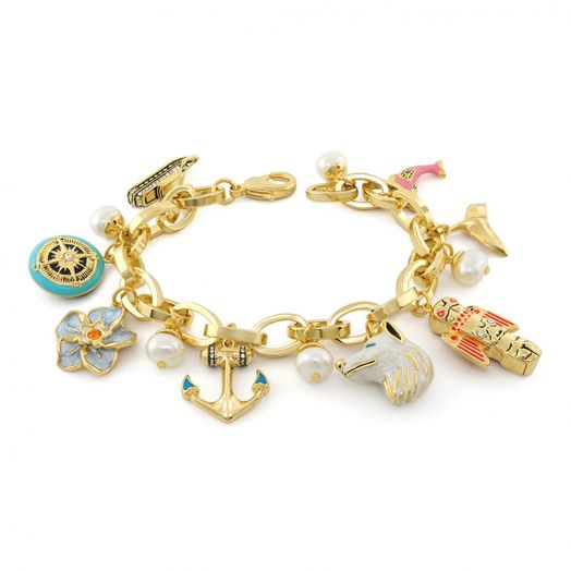 Ice Queen Charms Bracelet