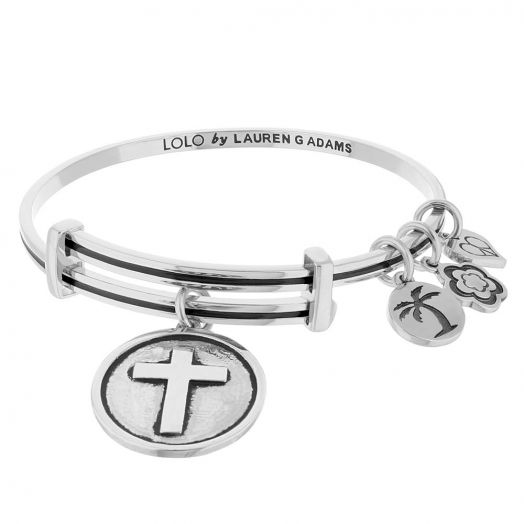 Lolo Cross Bangle.