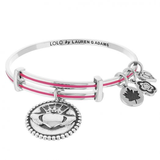 Lolo Claddagh Bangle.