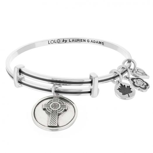 Lolo Celtic Cross Bangle.