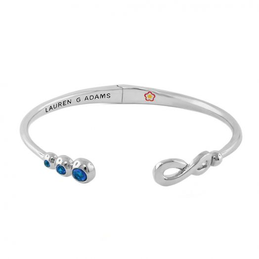 Open Arms Eternity Bangle