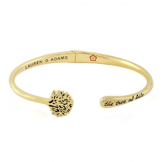 Open Arms Tree of Life Bangle