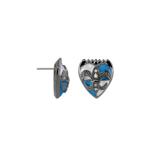 Knights of Love Post  Earrings