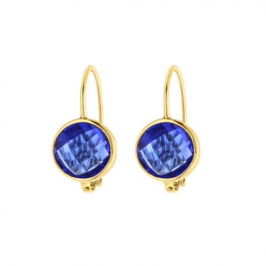 Lolo September Birthstone Cz Earrings