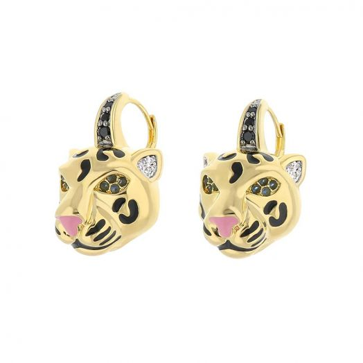 Sweet Leopard Earrings