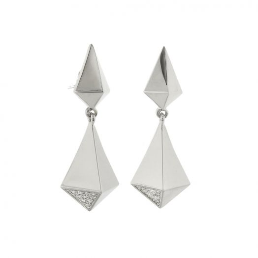 Lux Pyramid Earrings