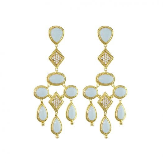 Lux Chandelier Earrings