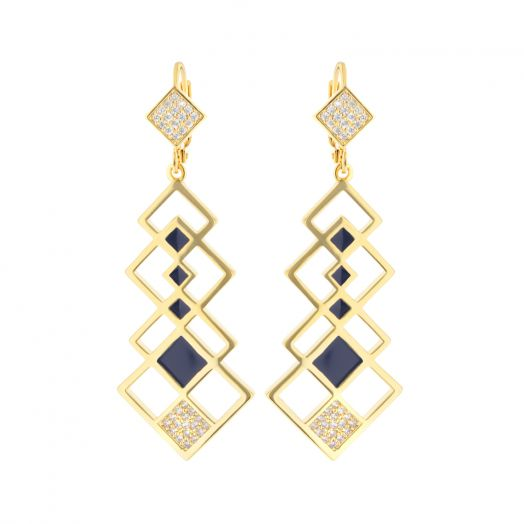 Fierce Edge Chandelier Earrings