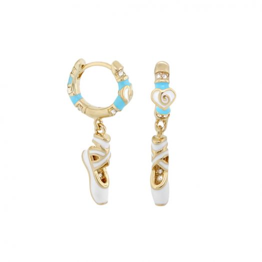 Ballet Slipper Child Earrings