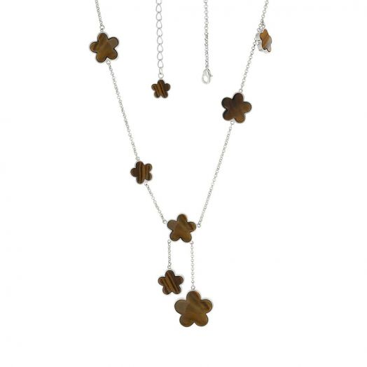 Daisy Love Gemstone Necklace