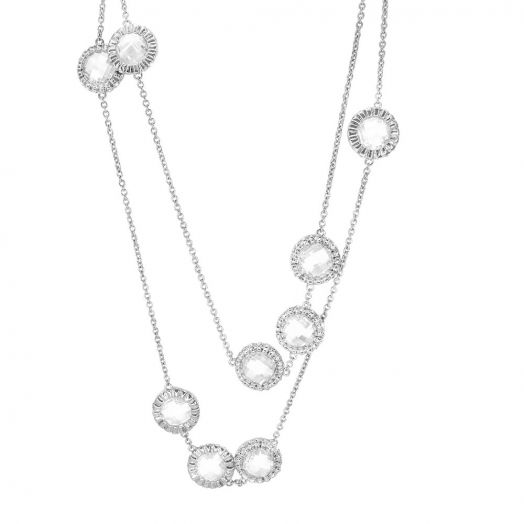 Classic Charm Round Necklace