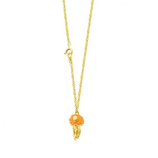 Jellyfish Pendant With Necklace