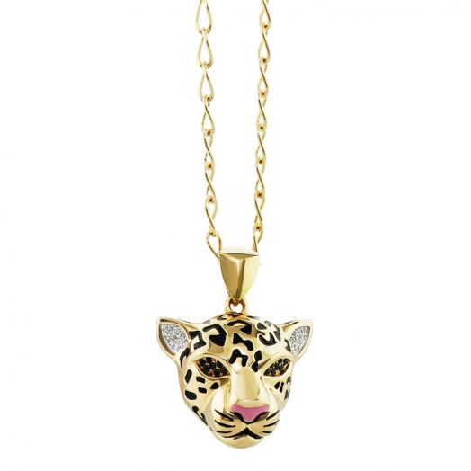 Sweet Leopard Necklace