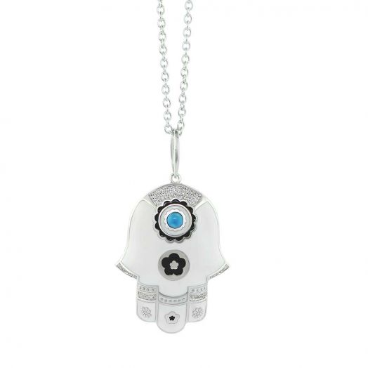 Lucky Hamsa Necklace