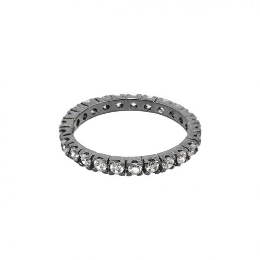 Stackable Glamour Pave Ring