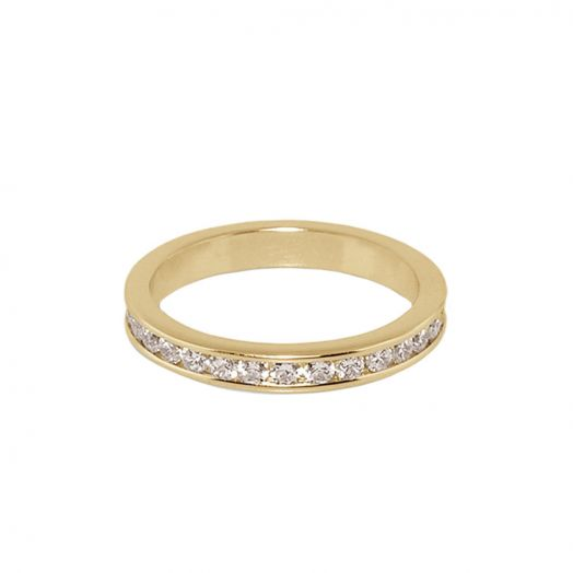 Glamour Pave Stackable Ring
