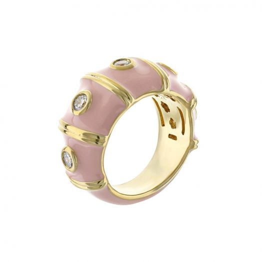 Tiny Dots Band Ring
