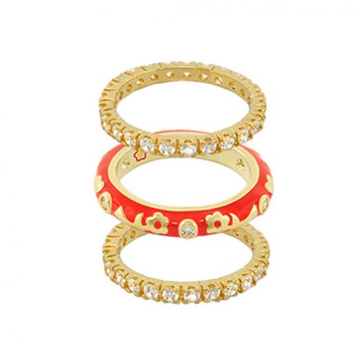 Stackable Desire Set of 3 Ring