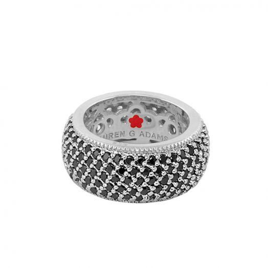 Glamour Pave Band Ring