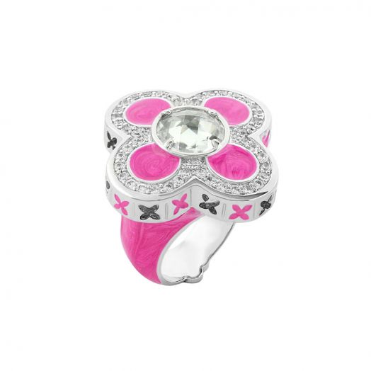 Floral Knight Cocktail Ring