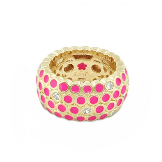 Fun Bubbles Band Ring