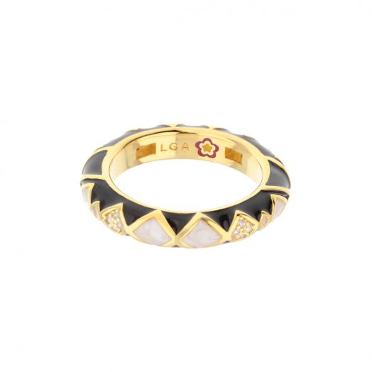Fierce Edge Stackable Ring