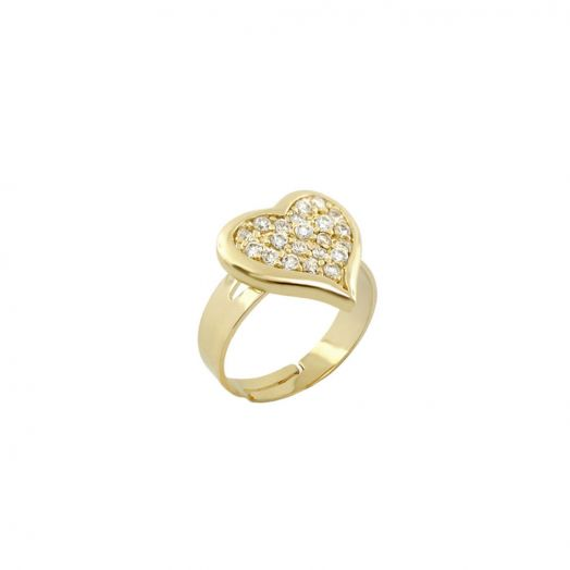 Kids Ring With Heart
