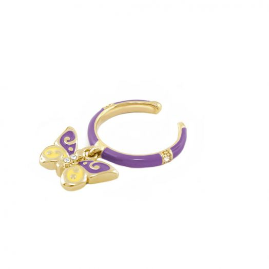 Butterfly Girl's Stackable Ring