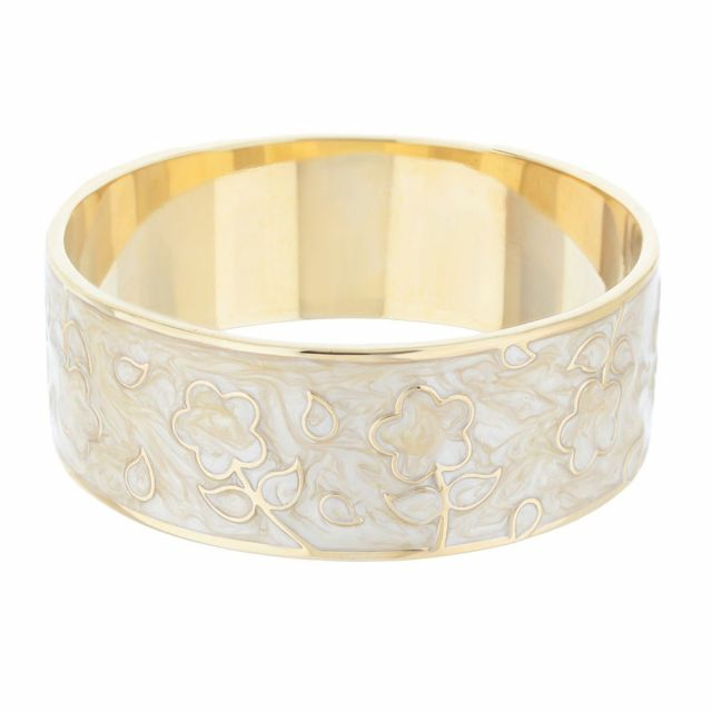 Daisy Love Slip On Stackable Bangle