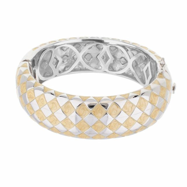 Checker Chic Bangle