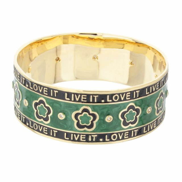 Live It . Love It Slip On Bangle