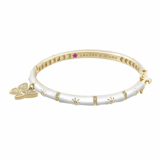 Charming 2 Butterfly Bangle