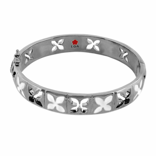 Floral Knight Stackable Bangle