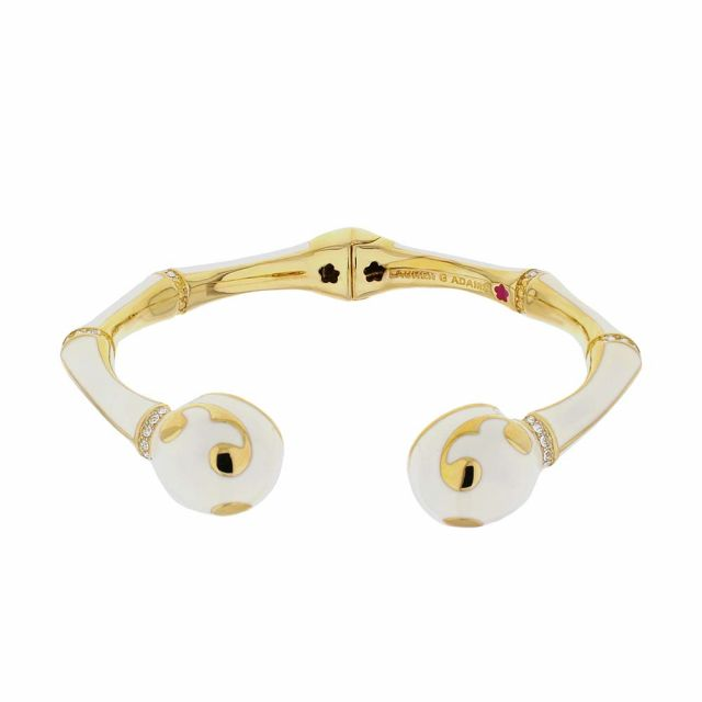 Bamboo Scroll Bangle