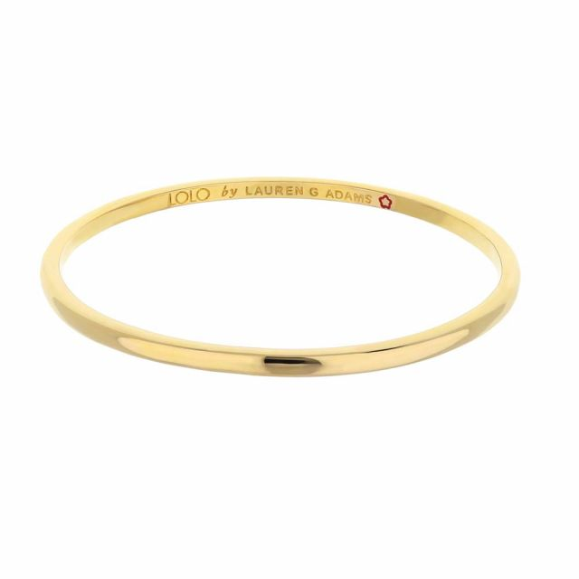 Lolo Simplicity Bangle (4mm Wide)