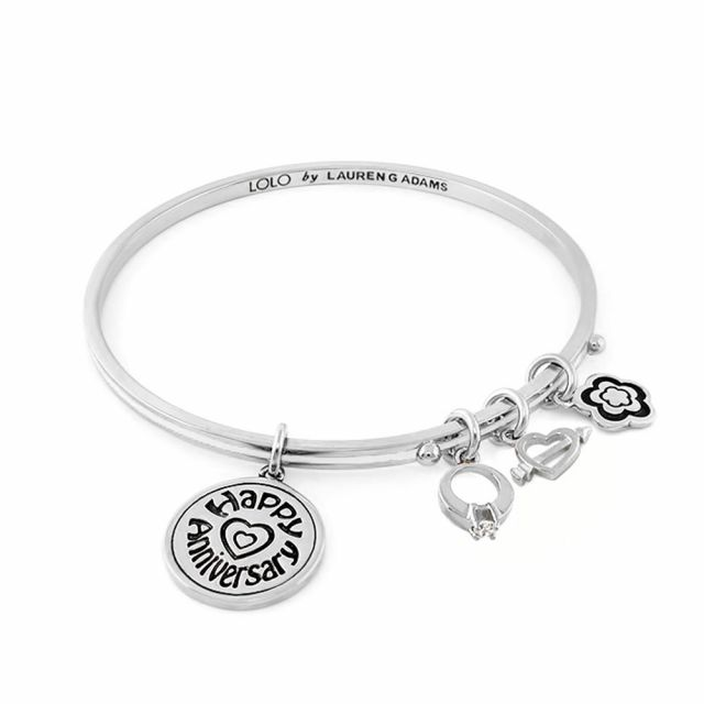Lolo Happy Anniversary Non Adjustable Bangle.