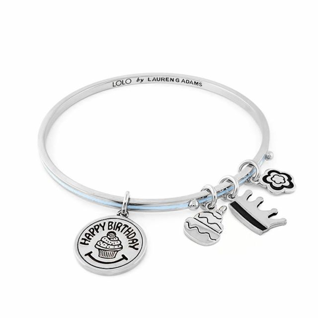 Lolo Happy Birthday Non Adjustable Bangle.