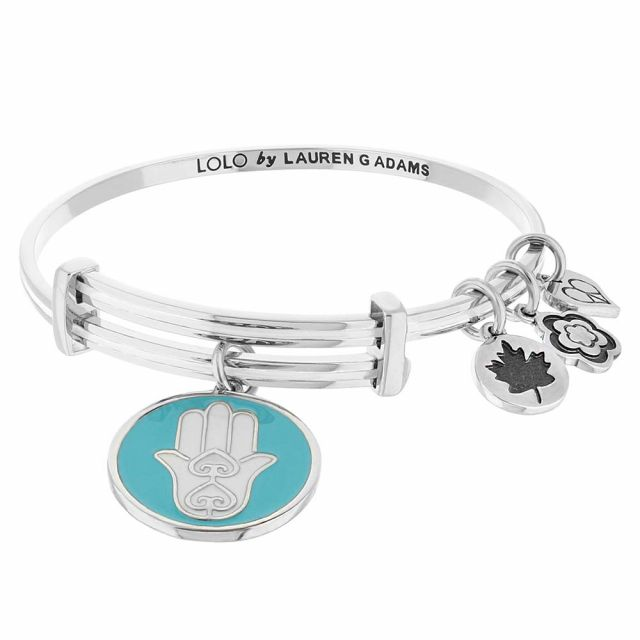 Lolo Hamsa Bangle.