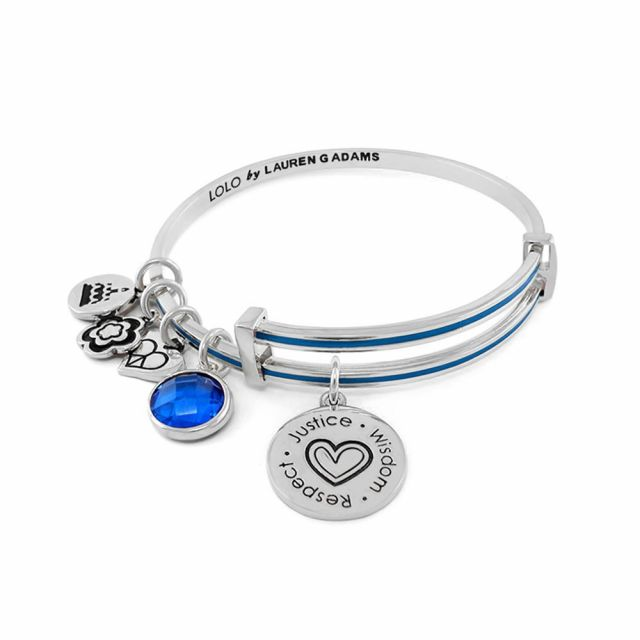 September Birthstone Color Bangle