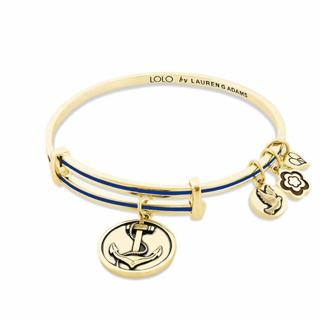 Lolo Anchor Bangle