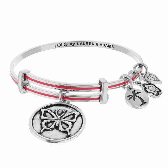 Lolo Butterfly Bangle