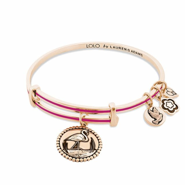 Lolo Flamingo Bangle.