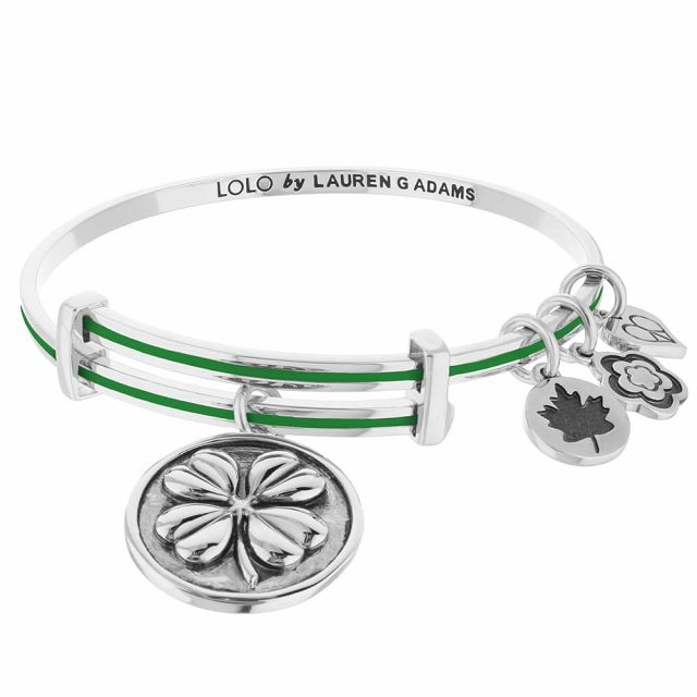 Lolo Four Leaf Clover Bangle.