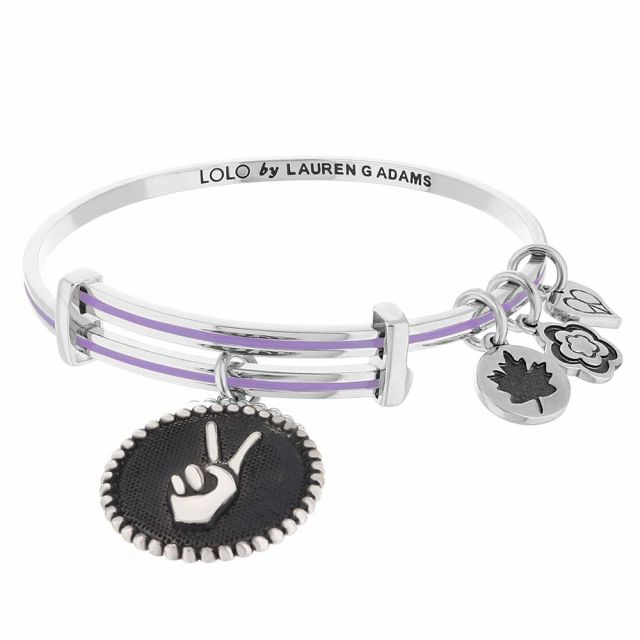 Lolo Peace Hand Bangle.