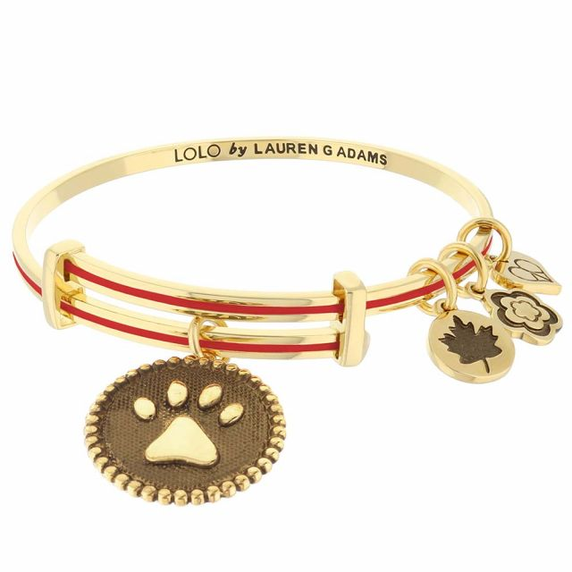 Lolo Dog Paw Bangle.