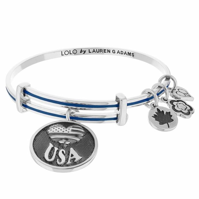 Lolo Usa Flag Bangle.