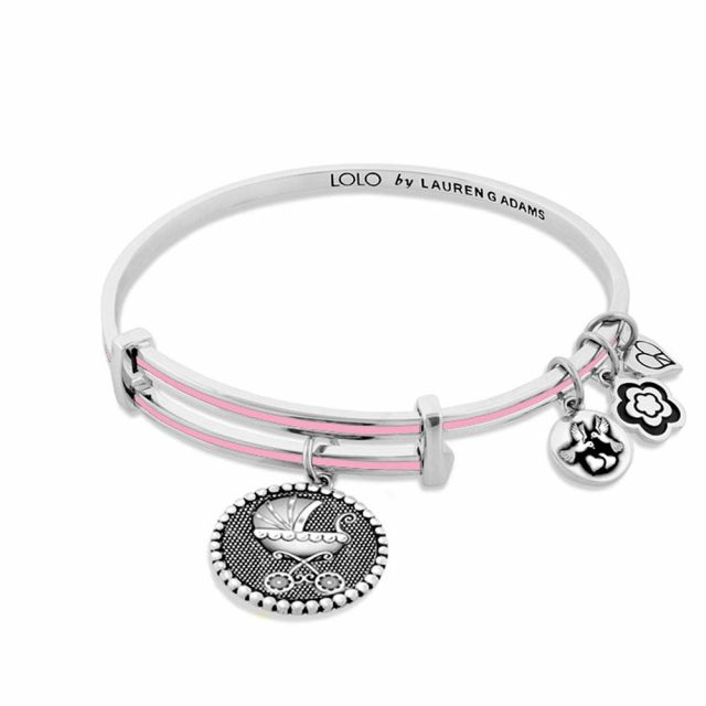Lolo Baby Carriage Bangle.