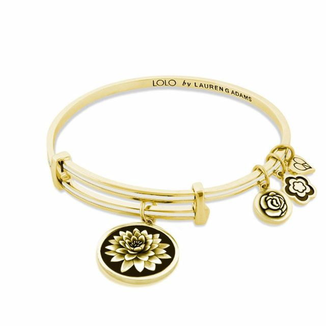 Lolo Lotus Flower Bangle