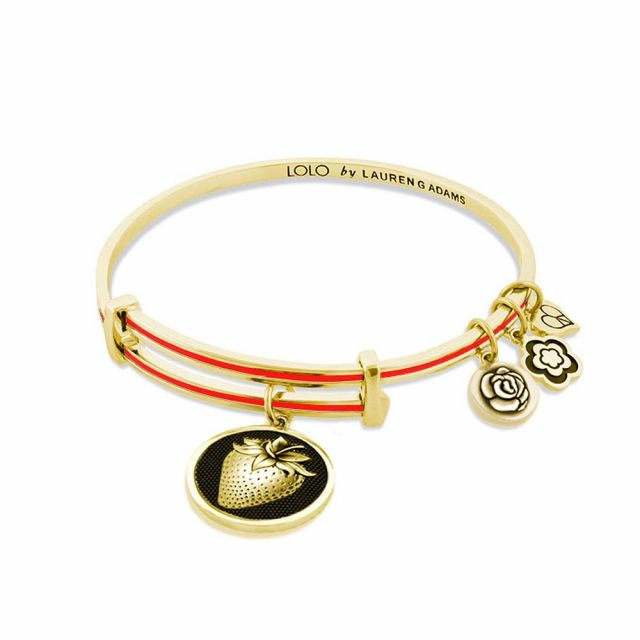 Lolo Strawberry Bangle.